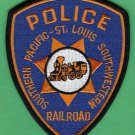 Southern Pacific St. Louis Southwestern Railroad Police Patch