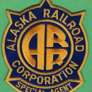 Alaska Railroad Special Agent Police Patch