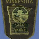 Minnesota State Patrol Tactical Police Patch