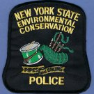New York State Environmental Conservation Police Pipes & Drums Patch