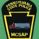 Pennsylvania State Police Motor Carrier Safety Assistance Program Patch