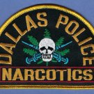 Dallas Texas Police Narcotics Division Patch