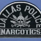 Dallas Texas Police Narcotics Division Tactical Patch