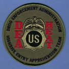 DEA HEAT High Risk Apprehension Team Police Patch