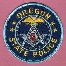 Oregon State Police Masonic Lodge Patch