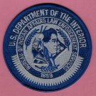 Bureau of Indian Affairs Tribal Law Enforcement Services Patch
