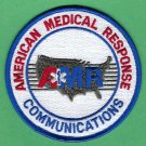 AMR American Medical Response Communications Division Patch