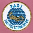 PADI Master Scuba Diver Patch