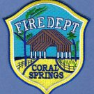 Coral Springs Florida Fire Patch