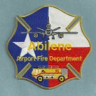 Abilene Regional Airport Fire Rescue Patch ARFF