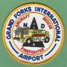 Grand Forks International Airport Fire Rescue Patch ARFF