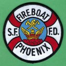 "San Francisco Fire Department Fire Boat ""Phoenix"" Patch"