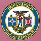Indianapolis Indiana Fire Rescue Patch