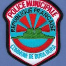 Bora Bora French Commune Police Patch