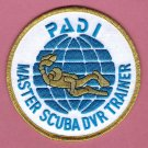 PADI Master Scuba Diver Trainer Patch