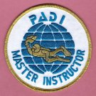 PADI Master Instructor Patch