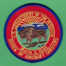 United States Department of Interior Aircraft Services Patch