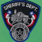 El Paso County Sheriff Texas Police Patch