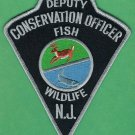New Jersey Deputy Fish & Wildlife Conservation Enforcement Officer Patch