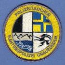 Graubuden Switzerland Police Dive Team Patch