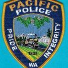 Pacific Washington Police Patch Locomotive