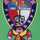 Houston Fire Department Station 1 Patch