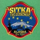 Sitka Alaska Fire Patch NEW STYLE