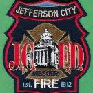 Jefferson City Missouri Fire Patch State Capitol