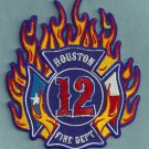 Houston Fire Department Station 12 Patch