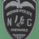 Cherokee Nation North Carolina Tribal Police Patch Subdued