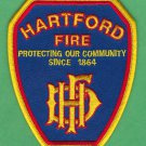Hartford Connecticut Fire Patch New Style