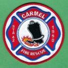 Carmel Maine Fire Rescue Patch