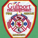 Gulfport Mississippi Fire Patch