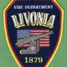 Livonia Michigan Fire Rescue Patch