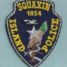 Squaxin Island Tribal Washington Tribal Police Patch