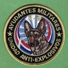Dominican Republic Police Explosives K-9 unit Patch