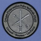 Haiti Group d'Intervention Police National SWAT Team Patch