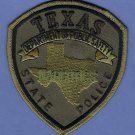 Texas State Police Narcotics Enforcement Patch