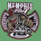 Memphis Fire Department Engine Company 16 Patch New