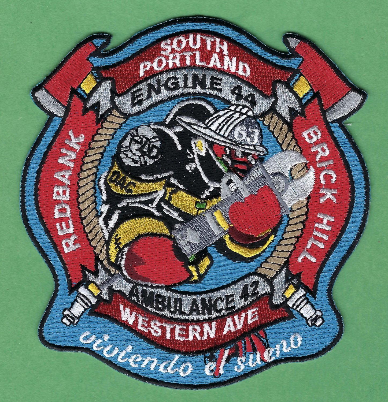 South Portland Maine Engine Company 44 Fire Patch