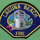 Laguna Beach California Fire Rescue Patch
