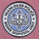 Miami-Dade County Florida Police Bomb Squad Patch
