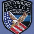 Gettysburg South Dakota Police Patch NEW STYLE