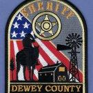 Dewey County Sheriff South Dakota Police Patch