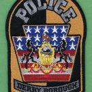 Derry Borough Pennsylvania Police Patch