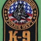 Derry Borough Pennsylvania Police K-9 Unit Patch