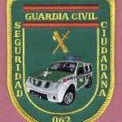 Spain Guardia Civil Seguridad Ciudadana Police Patch