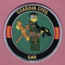 Spain Guardia Civil GAR Grupo de Acción Rapida Police Patch