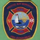 Bristol Bay Borough Alaska Fire Rescue Patch