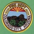 Colorado City Arizona Fire Patch